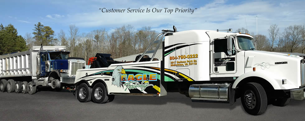 Home | Eagle Towing | Light Duty | Heavy Duty | Midlothian